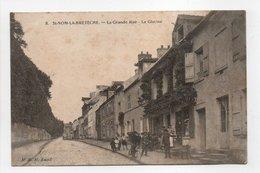 - CPA SAINT-NOM-LA-BRETÈCHE (78) - La Grande Rue 1912 - La Glycine (avec Personnages) - Edition M. R. H. N° 8 - - St. Nom La Breteche