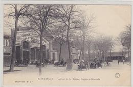 MONTARGIS  Garade De La Maison Cherbuy-Ouachée - Montargis