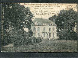 CPA - Environs De SAINT POL - Château De LIGNY SAINT FLOCHEL, Animé - France