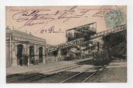 - CPA Chemin De Fer Des Moulineaux (92) - La Station Funiculaire 1905 - Bellevue - Edition Trianon 1913 - - Issy Les Moulineaux