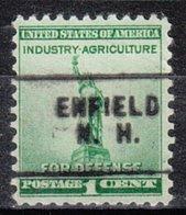 USA Precancel Vorausentwertung Preo, Locals New Hampshire, Enfield 703 - Vereinigte Staaten