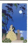 CPA  G Meschini Ars Nova Dipinta A Mano Peinte à La Main Couple Amoureux Au Clair De Lune 2 Scn TBE - Autres Illustrateurs