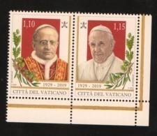 2019 - VATICANO - S11L4 - SET OF 2 STAMPS ** - Unused Stamps