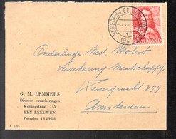 3.7.45 BENEDEN-LEEUWEN (Gld) G.M..Lemmers > Molest Verzek. (oorlogsclaims) (FR-63) - 1891-1948 (Wilhelmine)