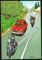 SPIROU - CP N° 23 : Illustration Couverture Album N° 41 De FRANQUIN - Non Circulé - Not Circulated - Ed. DUPUIS - 1985. - Comicfiguren