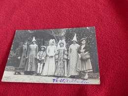 6 - Carte-photo, Déguisements De Jeunes Filles , 1926, Loiret, Meung Sur Loire, ?? - Postales