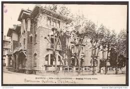 "Cpa BIARRITZ (64) Villa ""les Chardons"" (bon Etat) - Biarritz"