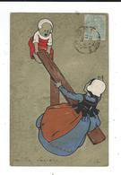 CPA  Illustrateur   M M Vienne 139   Circulé 1906 TBE Enfants Sur Balançoire 2scan - Vienne