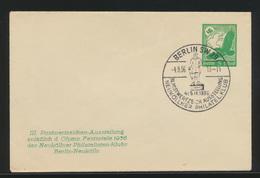 Deutsches Reich Privatganzsache 5 Pfg. Flugpost SST Berlin Neukölln Philatelie - Germany