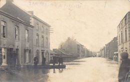 TAMINES Namur - Rue De Falisolle Pendant Les Inondations - CARTE PHOTO - Ed. Inconnu. - Belgique