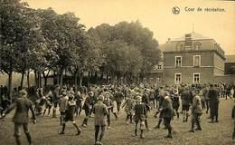 CPA - Belgique - Petit Séminaire De Saint-Roch - Cour De Récréation - Ferrières