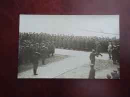 Oorlog 1914 - 1918 Fotokaart Soldaten Kamp In De Panne        ( 2 Scans ) - De Panne
