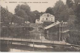 "91 (brunoy  "".l Yerres Et Les Vannes Du Moulin... ) - Brunoy"