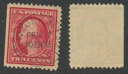 ETATS-UNIS  - 1909 - George Washington, Oblitere, Used - Gebraucht