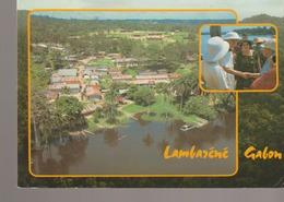 C. P. - PHOTO - GABON - LAMBARENE - VUE AERIENNE DE L'HOPITAL DU DT SCHWEITZER AU BORD DE L'OGOOUE - AFRICA - Gabón