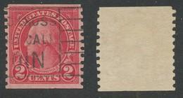 ETATS-UNIS  -  1900-1920 - George Washington, Oblitere, Used - Gebraucht