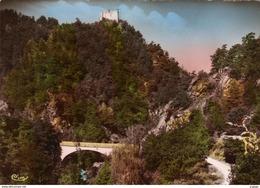 LOZÈRE  Château De LA GARDE  Carte Photo  écrite En 1955   2 Scans - Non Classificati