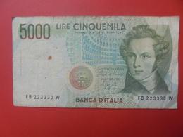 ITALIE 5000 LIRE 1985 CIRCULER (B.5) - [ 2] 1946-… : Repubblica