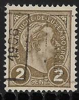 Luxembourg 1906 Prifix Nr. 28A - Precancels