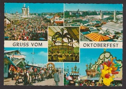 ALLEMAGNE - MUNICH - Gruss Vom Oktoberfest - Multi Vues Couleur - Muenchen