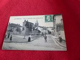 46 - CPA , Cours , Place De La République Et Rue Du Docteur-Sénac - Cours-la-Ville