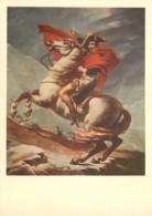 Art - Peinture - Histoire - Jacques-Louis David - Napoléon Bonaparte Franchissant Les Alpes Au Grand Saint-Bernard - Che - Paintings