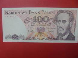 POLOGNE 100 ZLOTY 1988 BELLE QUALITE CIRCULER (B.5) - Pologne