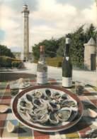 PHARE - IL DE RE - PHARE DES BALEINES - Huîtres Et Muscadet - Café Restaurant PLAIDEAU - Lighthouses