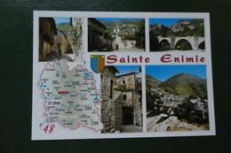 S 5 )  CARTE DEPARTEMENT  LOZERE REF Z 798231 GORGES DU TARN  SAINTE ENIMIE  EB50438 M - France
