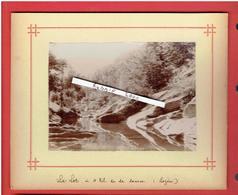 PHOTOGRAPHIE VERS 1890 DEPARTMENT LOZERE A 4 KILOMETRES DE LA SOURCE DU LOT - Lieux