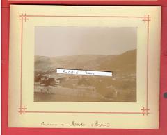 PHOTOGRAPHIE VERS 1890 DEPARTMENT LOZERE PANORAMA DE MENDE - Lieux