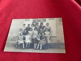 62 - Carte-photo, Meung Sur Loire, Groupes De Jeunes FIlles - Francia