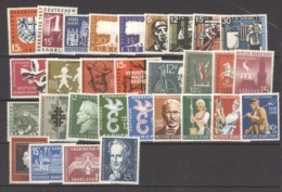 Sarre  :  Yv  361...430  **  Sans Les Séries Heuss - 1957-59 Bondsland