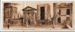 CP 84 Comtat, La Tour D'Aigues, Chateau Seigneurial (XVIe) N° B819 édition Chocolat Cantaloup-Catala Format 9.5 X 23 Cm - La Tour D'Aigues