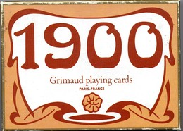 2 Jeux De 54 Cartes A Jouer 1900 Montgolfière Ballon - 4 Jokers Joker Playing Card Jeu Luxe - 54 Cards