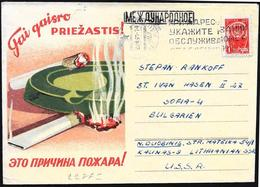 URSS: Lotta Contro Il Fumo, Fight Against Smoking, Lutter Contre Le Tabagisme - Medicina