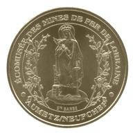 Monnaie De Paris , 2012 , Neufchef , Ecomusée Des Mines De Fer De Lorraine , Sainte Barbe - Monnaie De Paris
