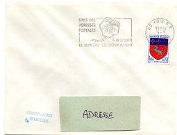 ARIEGE - Dépt N° 09 = FOIX RP 1968 = FLAMME SECAP ' PENSEZ à INDIQUER NUMERO DEPARTEMENT ' - Codice Postale