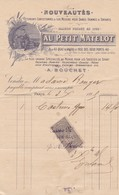 PARIS AU PETIT MATELOT VETEMENTS YACHTING ROWING CHASSE PECHE  ANNEE 1896 - Frankrijk