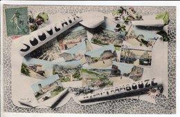 Cpa Souvenir De Pont Trambouze - Francia