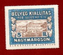 BELYEG KIALLITAS  1928  5 Fil  NAGIMAROSON    ETICHETTA PUBBLICITARIA  ERINNOFILO - Erinnophilie