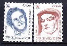 Europa Cept 1996 Vatican City  2v ** Mnh (46109F) ROCK BOTOM - 1996