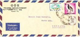 Iraq Air Mail Cover Sent To Denmark 1969 - Iraq