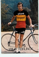 Willy TEIRLINCK, Champion De Belgique. 2 Scans. Cyclisme. Gitane Campagnolo - Radsport
