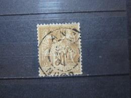 "VEND BEAU TIMBRE DE FRANCE N° 80 , OBLITERATION "" ANZIN "" !!! - 1876-1898 Sage (Type II)"