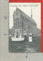 CARTOLINA VG BELGIO - GAND GENT - Mont St. Amand - Beguinage - Eglise Ste. Elisabeth - 9 X 14 - 1913 - Gent