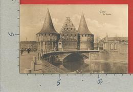 CARTOLINA VG BELGIO - GAND GENT - Le Rabot - 9 X 14 - 1907 - Gent
