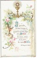 ANTWERPEN 1906 Souvenir Première Communion D'Emile DUQUENNE Faite Au Collège Notre-Dame D'Anvers - Communion