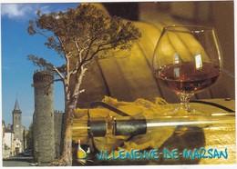 VILLENEUVE-de-MARSAN: Ancienne BASTIDE Du XIIIe Siècle  Production D'Armagnac - Villeneuve De Marsan