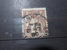 "VEND BEAU TIMBRE DE FRANCE N° 88 , OBLITERATION "" RENNES "" !!! (a) - 1876-1898 Sage (Type II)"